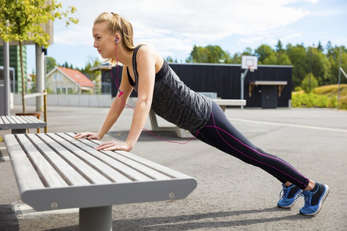 Incline pushups are an advanced form of wall pushups.
