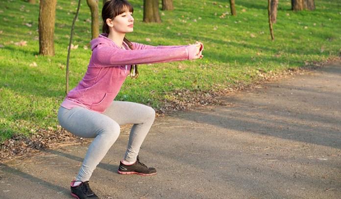 Jump squats increase energy and vigor.
