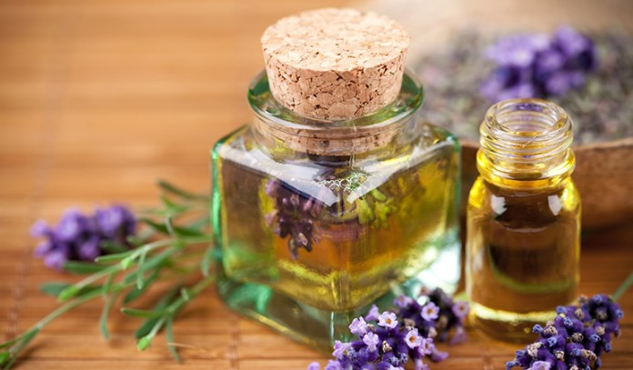 Lavender oil not only has an aromatic smell but can also heal scars