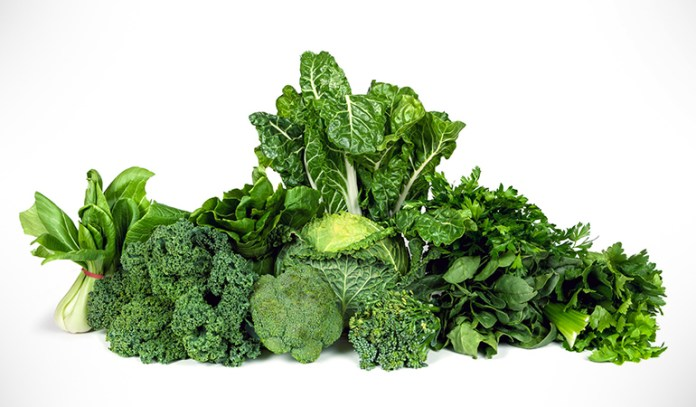 The magnesium in green vegetables is shown to reduce the risk of diabetes.