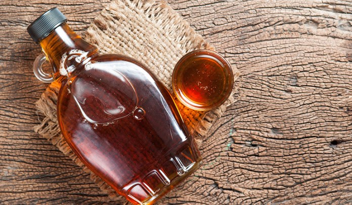 Maple syrup is a great alternative to sugar