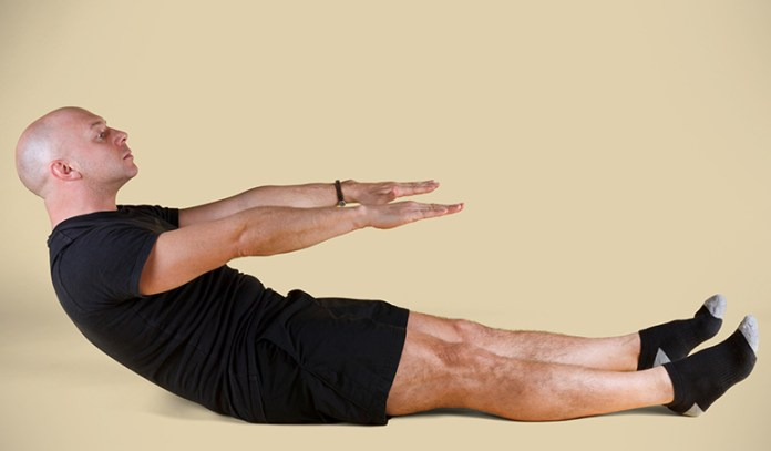 Roll up exercise helps you prevent the forward head posture by challenging your deep cervical flexion muscles.