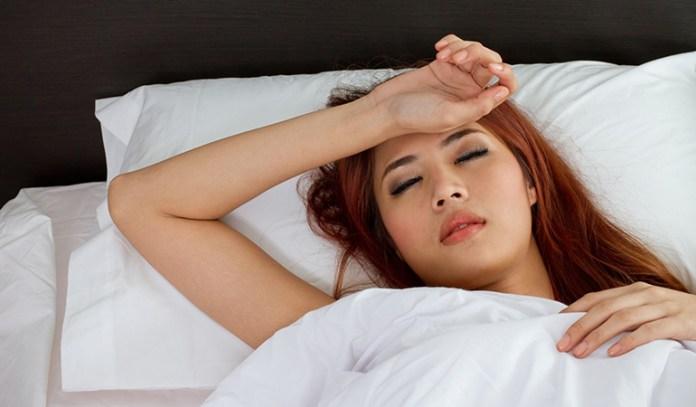Inability to move during deep sleep
