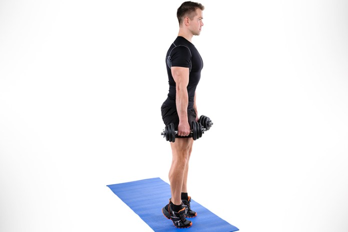 Standing carlf raise is a better stimulus for the calves