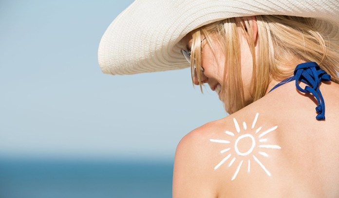 Your scalp can be dried out by sun exposure