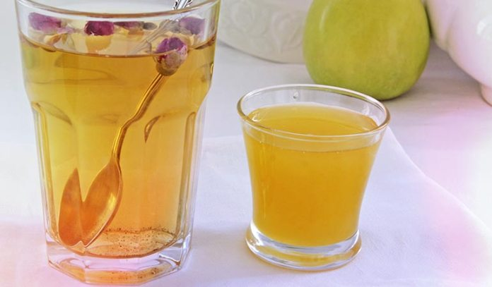 Honey and rosewater brighten the undereye area