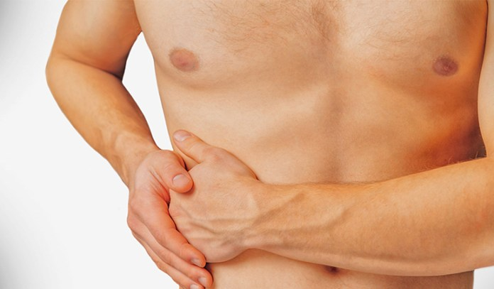 Pain or discomfort in the abdomen can indicate fatty liver disease