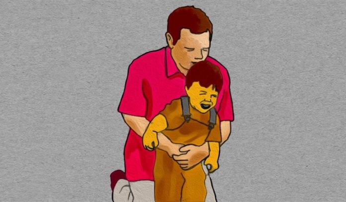 Abdominal Thrusts May Help A Choking Child