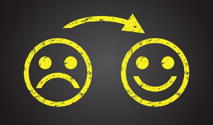 Accept negative emotions instead of suppressing them for long-lasting happiness