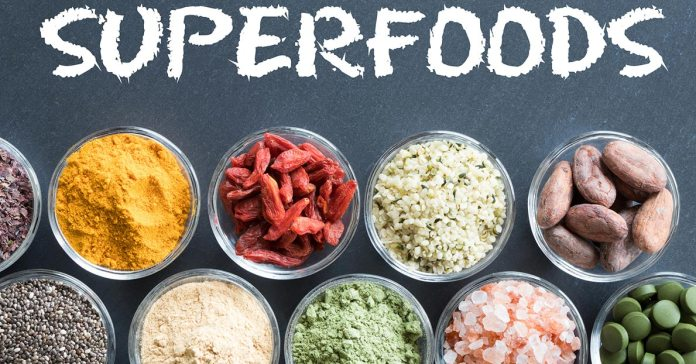 Superfoods do not belong to a specific food group but include a wide variety of foods that are packed with nutrients