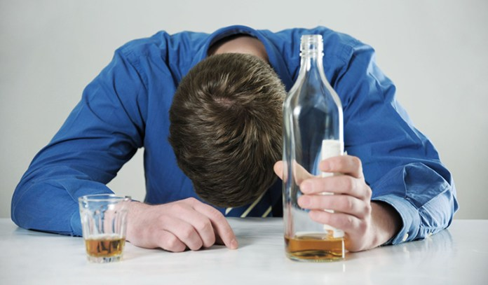 Drinking lots of alcohol induces greater stress response