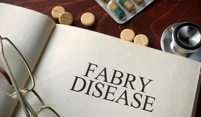 Fabry disease causes blemishes.
