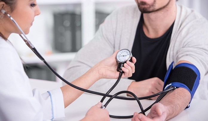 High blood pressure can have damaging effects on blood vessels