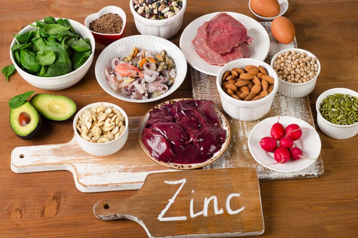 Zinc is important for hair follicle health and improves its recovery