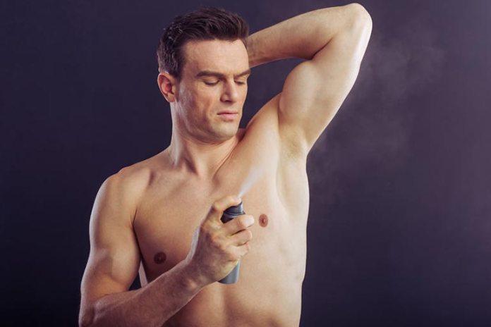 Antiperspirants reduce bacterial density and sweat.