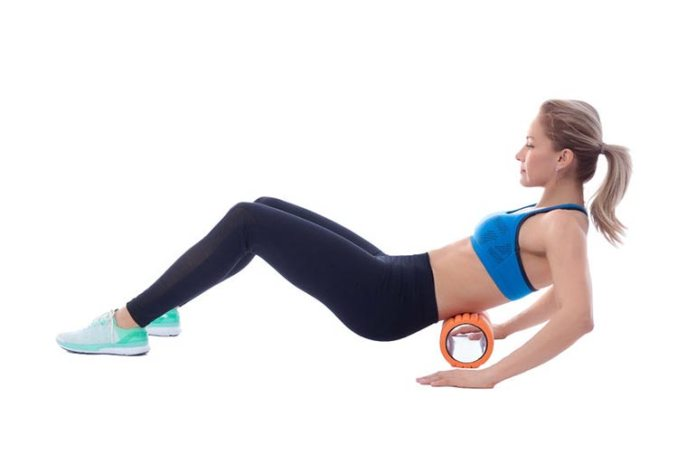 Technique used to foam roll