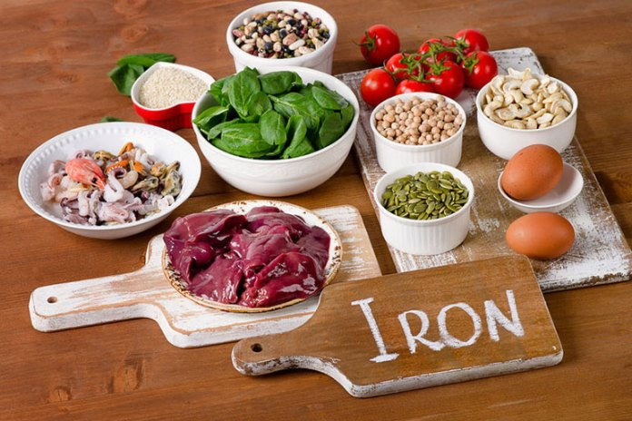 Inadequate intake of iron can lead to increased hair fall