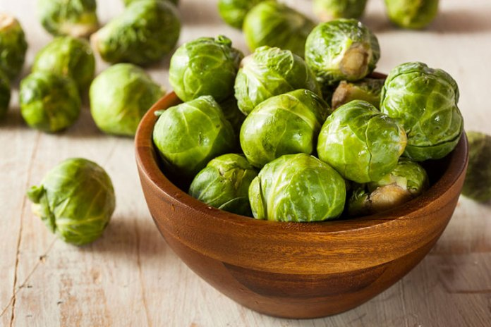 Bid constipation goodbye with fibrous brussels sprouts