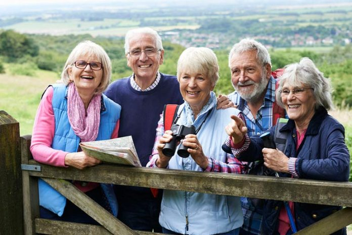 Spending time outdoors and involving in group activities is good for health