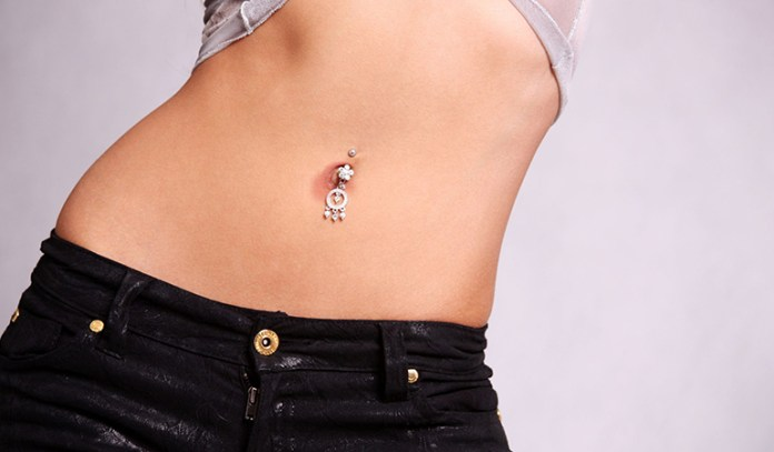 Infected Navel Piercing Wound
