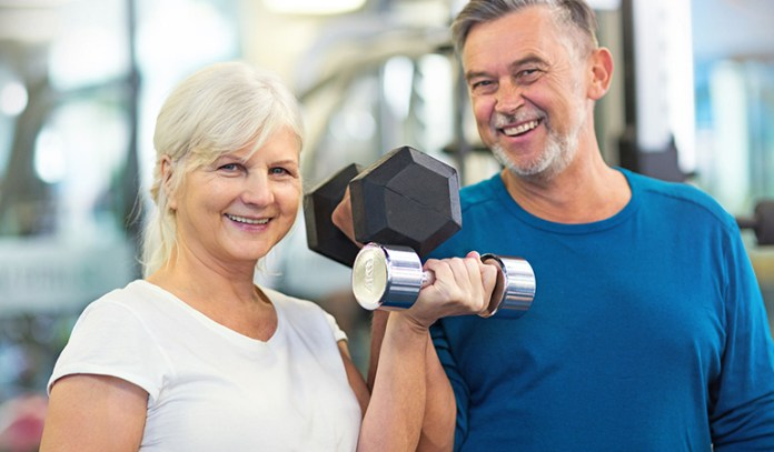 Testosterone helps in building muscle mass