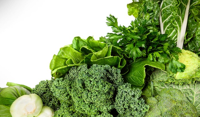 Leafy greens contain a host of nutrients
