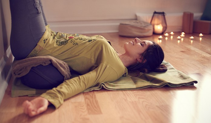 Legs Up The Wall Pose Can Relieve Stress And Maintain Hormonal Balance