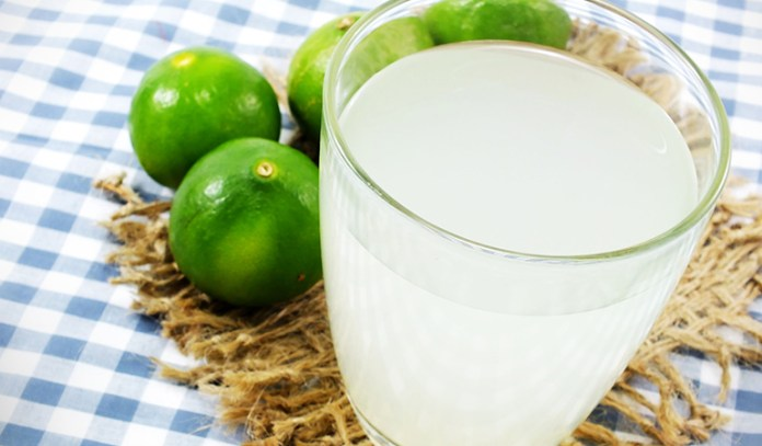 Lime juice contains antioxidants that speed up healing