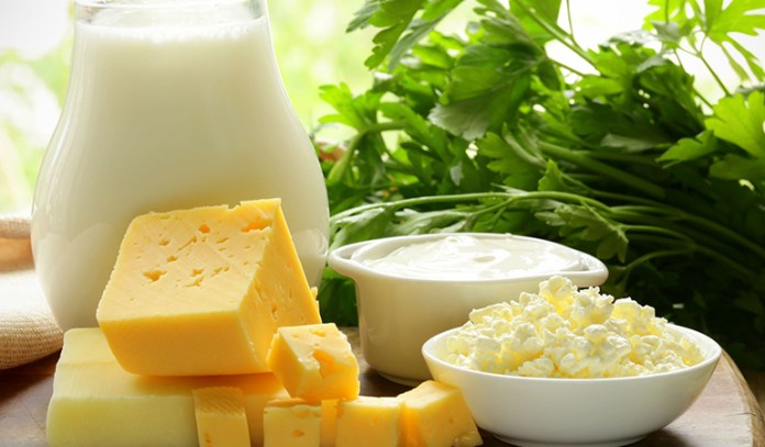 Unflavored, low-fat dairy products contain a natural sugar called lactose which is completely healthy.
