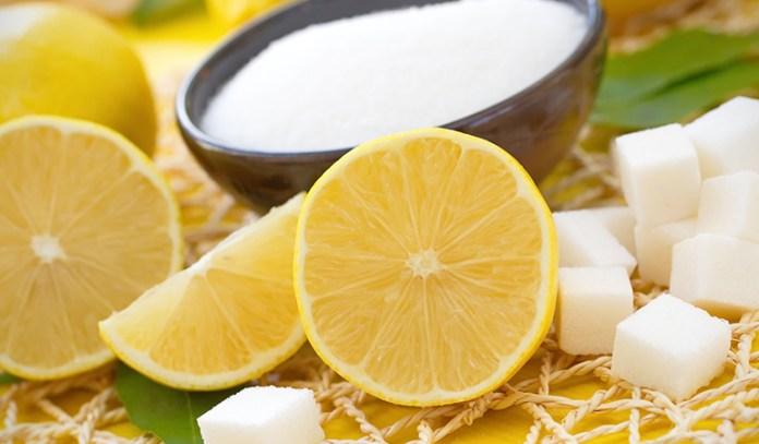 Natural Wax is made with sugar and lemon