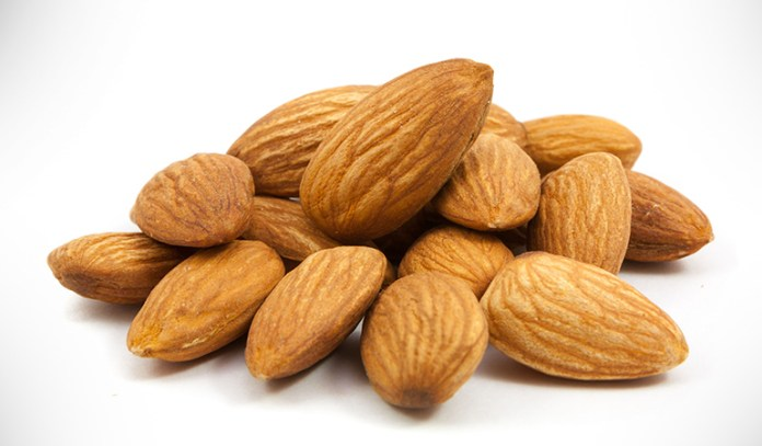 Nuts are rich in omega-3 and 6 healthy fats that help hair grow