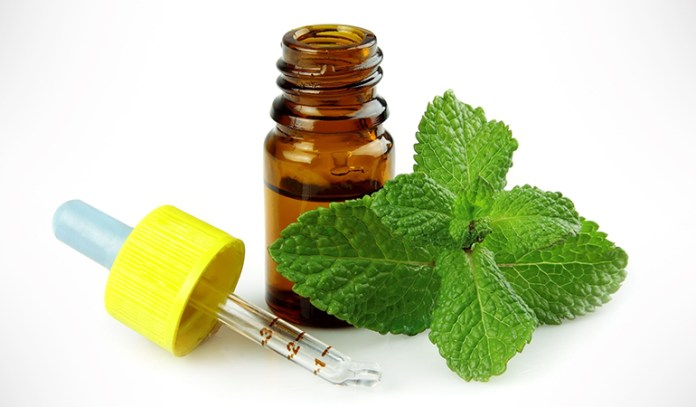Peppermint hair mask helps with infections in the scalp