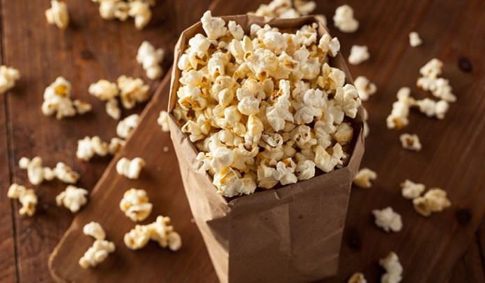 Add in a dash of turmeric to popcorn