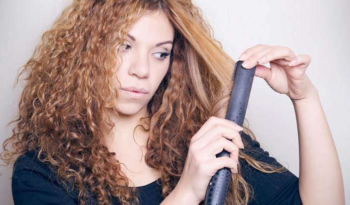 Abstaining from heat-styling and indulging in a deep-conditioning mask can revive your limp curls.