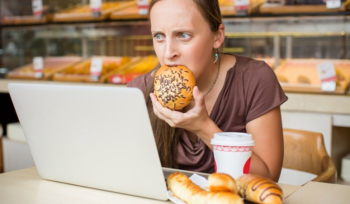Stress can lead to hunger pangs that make you overeat