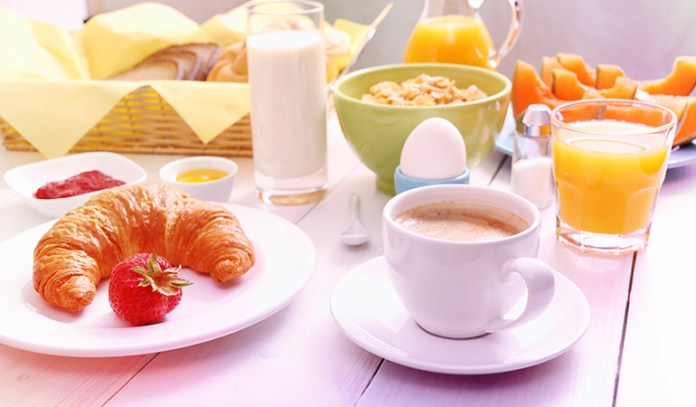 breakfast is the most important meal of the day)