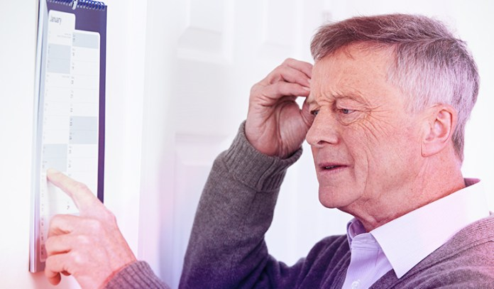 Small bouts of forgetfulness can occur with MS