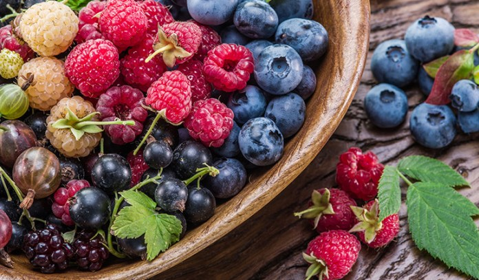 Berries are good for your heart and brain.