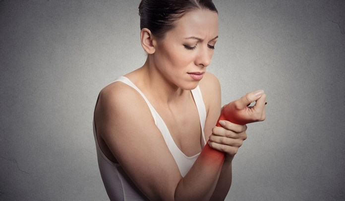 Some ganglion cysts may be painless, while some may cause pain while moving the affected joint.