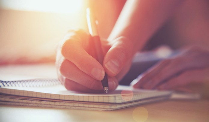 Journaling is one of the methods of curbing one's anger naturally.