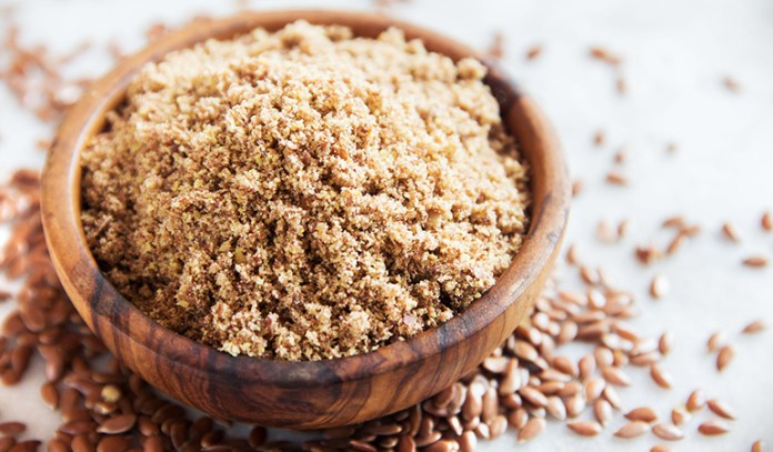 Use ground flaxseed for its richness in fiber