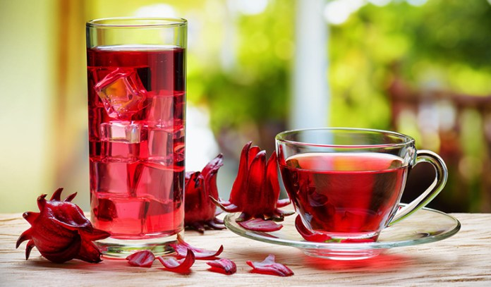 Hibiscus can treat high blood pressure
