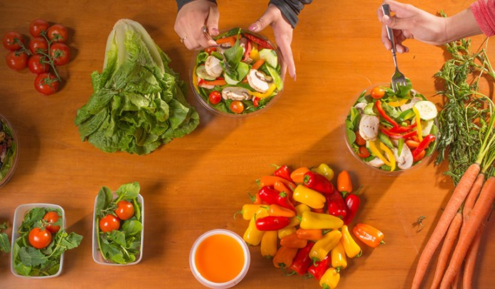 Frequent meals promote healthy eating.