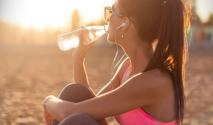 Sparkling water can hydrate your body