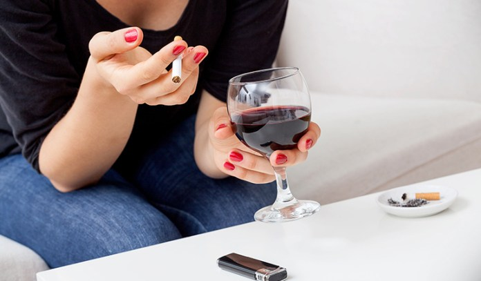 Lifestyle habits like smoking and drinking can increase your risk of breast cancer