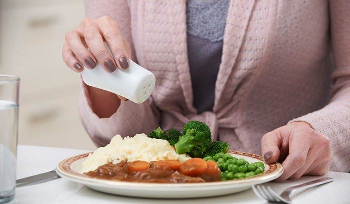 Limit salt intake to clean up your eating habits