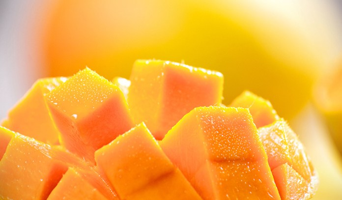 Mangoes are packed with vitamins excellent for the skin