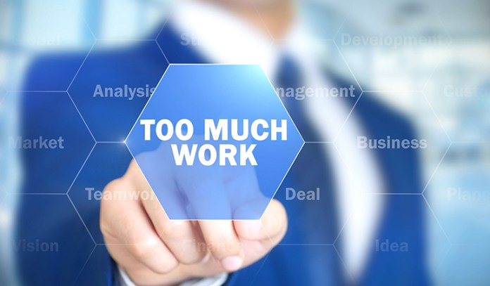 Overworking causes hostility and anger.