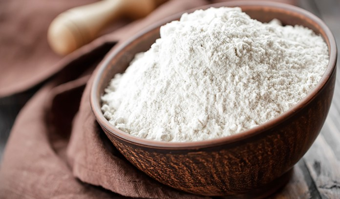 Refined white flour contains chemicals