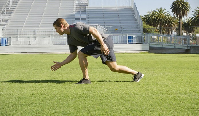 Sprinting can help burn fat faster.